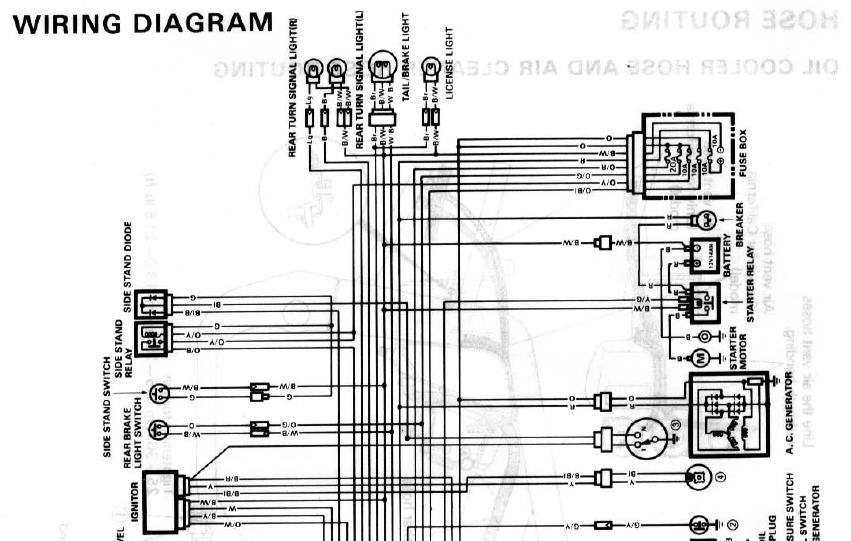 Wanted  89 Gsxr 750 Wiring Diagram
