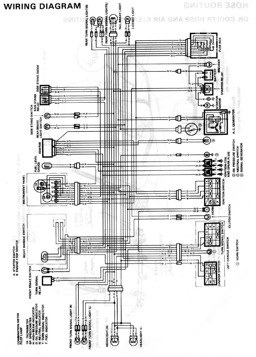 wanted 89 gsxr 750 wiring diagram rh streetfighters com au Gsxr 600 Engine  1990 Suzuki Gsxr