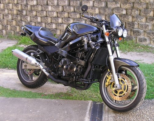 ZZR600 Fighter For Sale CBR400 Wanted