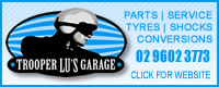 Trooper Lus Garage for motorcycle parts, service and much more