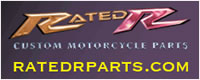 100s of aftermarket parts and accessories for your motorcycle from Rated R Motorcycle Parts